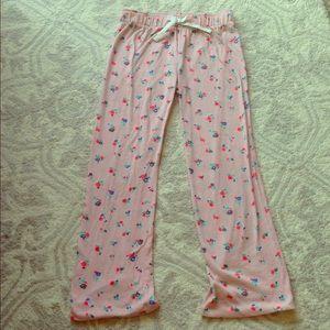 Old Navy, pink pajama pants, sz girls 10-12